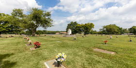 Cemetery grounds at Hermitage Funeral Home & Memorial Gardens