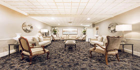 Lobby at Woodlawn-Roesch-Patton Funeral Home & Memorial Park