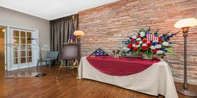 Reception room at Ott-Laughlin Funeral Home