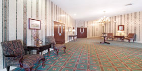 Lobby at Clore-English Funeral Home