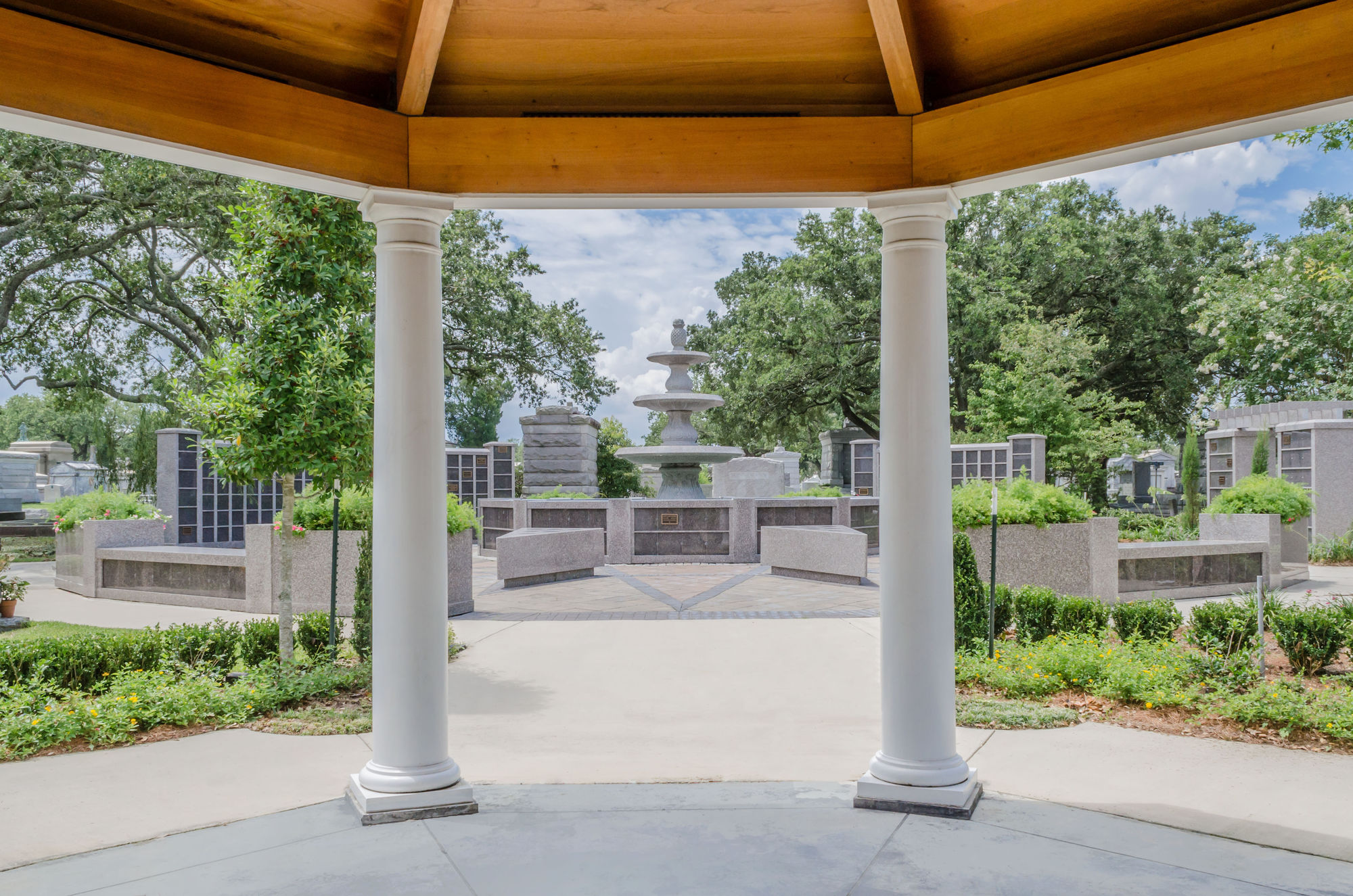Tranquil Oaks Cremation Garden at Metairie Cemetery