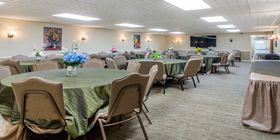 Reception room at Lamb Funeral Home Inc.