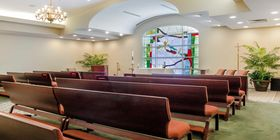 Chapel at St Bernard Mem Funeral Home