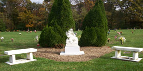 Grounds at Mount Comfort Cemetery