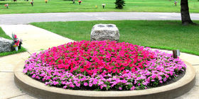 Landscaping at Morningside Memorial Gardens