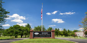 Entrance signage at at Berry Highland West
