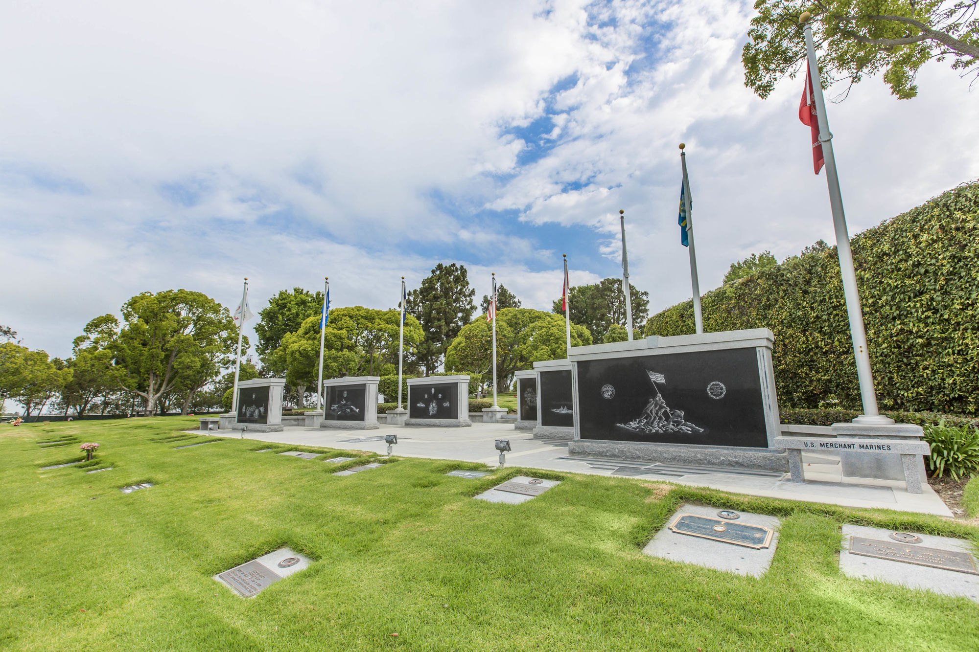 Veteran's and Public Servant's Memorials ~ Garden of Valor
