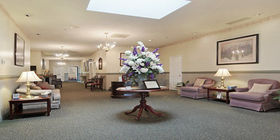 Sitting area at Tyler Mountain Funeral Home