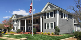 Front exterior at Carothers Funeral Home