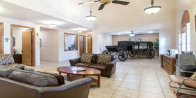 Lobby at Heavenly Grace Funeral Home