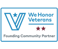 We Honor Veterans level 2 badge