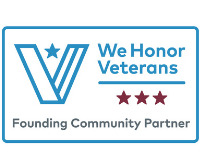 We Honor Veterans level 3 badge