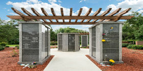 Cremation Garden at Sylvan Abbey Funeral Home & Memorial Park