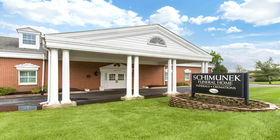 Front Building Exterior at Schimunek Funeral Home
