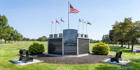 Veterans Memorial at Limerick Garden of Memories