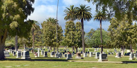 Cemetery Grounds at Pierce Brothers Santa Paula Cemetery