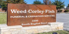 Signage at Weed-Corley-Fish Leander Cedar Park
