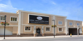 Front Exterior of Giffen-Mack Funeral Home & Cremation Centre