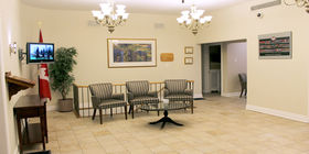 Lobby at Giffen-Mack Funeral Home & Cremation Centre