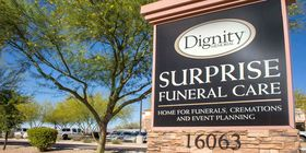 Signage at Surprise Funeral Care
