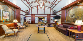 Lobby at Chapel Hill Gardens South Funeral Home