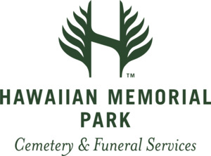 HMP Cemetery and Funeral Services logo in green