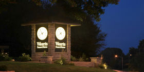 Clock Tower at Weerts Funeral Home