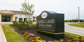 Entrance at Laurel Land Funeral Home