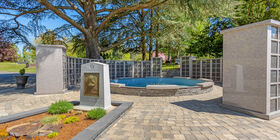Special Garden Feature at Evergreen Washelli Funeral Home & Evergreen Washelli Cemetery