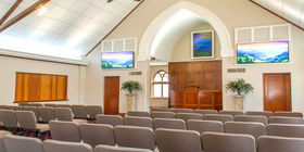 Chapel at Berry Funeral Home