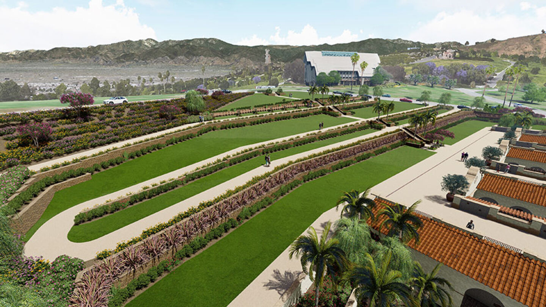 Terrace Gardens Landscape