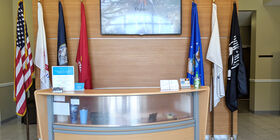 Reception Desk at Hardage - Giddens Greenlawn Funeral Home and Cemetery