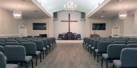 Chapel at Edo Miller and Sons Funeral Home