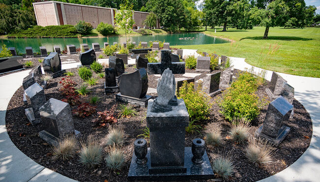 Cremation Garden at Forest Lawn Memorial Gardens