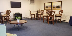 Reception Room at Burgee-Henss-Seitz Funeral Home Inc.