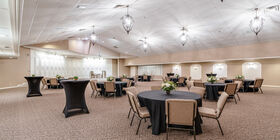 Our chapel can be setup a number of different ways to accommodate all types of services, celebrations, and receptions