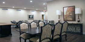 Reception Room at Curtis and Son Funeral Home