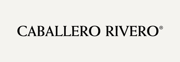 Caballero Rivero logo with gray background