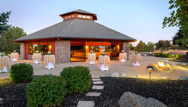Olinger Funeral & Cremation - Crown Hill Pavilion of Reflection Patio