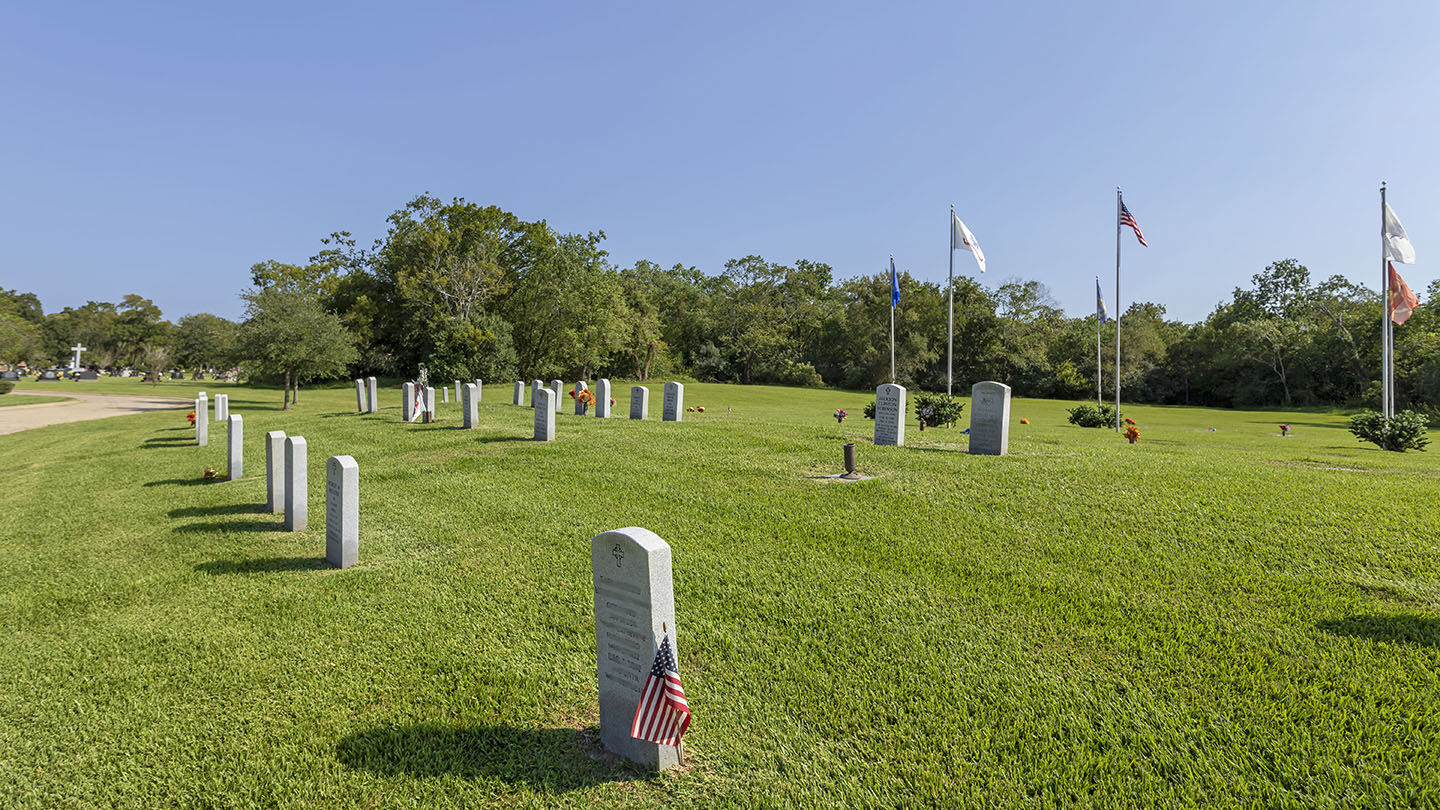 Veterans Feature at Forest Park East Cemetery
