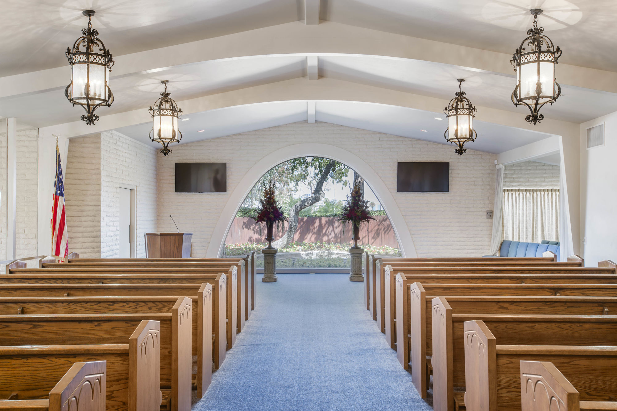 Chapel at Pacific View Mortuary