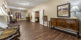 Lobby at Cook-Walden Davis Funeral Home