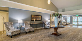 Lobby at Greenwood Memorial Park & Funeral Home