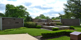 Cremation Garden at Crown Hill Funeral Home and Cemetery
