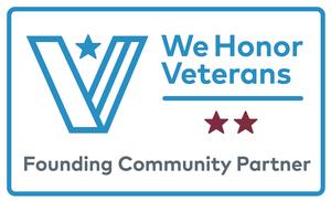 We Honor Veterans level 2 badge