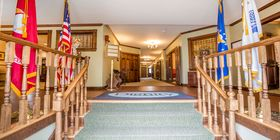 Lobby at Cuffe-McGinn Funeral Home