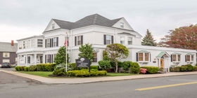 Front exterior at Cuffe-McGinn Funeral Home
