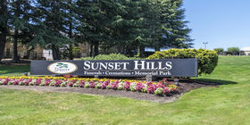 Signage at Sunset Hills Funeral Home
