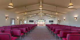 Chapel at Stonebriar Funeral Home and Cremation Services