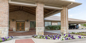 Front exterior at Rolling Oaks Funeral Home